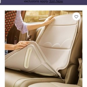 Incredible Brica Car Seat Protector Tan Nwt Alphanode Cool Chair Designs And Ideas Alphanodeonline